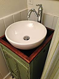 bathroom sink decor. Bathroom Inspiring Diy Vessel Sink Vanity Floating Blue Green Ideash Ideasi 7d Cool Decor
