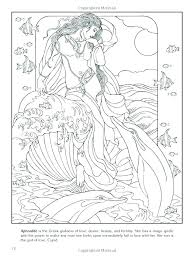 Aphrodite Coloring Page Coloring Page Coloring Page Drawing Pages