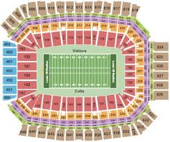 Colts Seating Chart Indianapolis Colts Vs Oakland Raiders Tickets Section 639