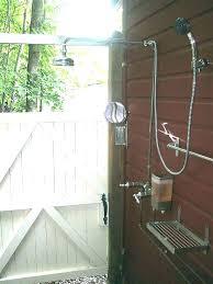 outdoor shower fixtures stainless steel home ideas fixture heads head decor