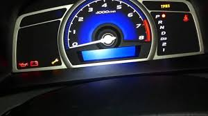 2011 Honda Odyssey Tpms Light Reset Reset Maintenance Oil Light On Honda Civic 2006 2011