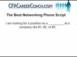 networking for a job how to network for a job proven phone script youtube