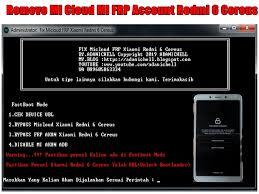 Hapus mi cloud redmi 4x santoni. Remove Mi Cloud Mi Frp Account Redmi 6 Cereus Adanichell Software Hardware