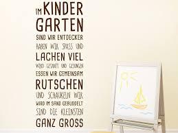 Im Kindergarten Spruchband Wandtattoo Sprüche Für Kindergarten Und