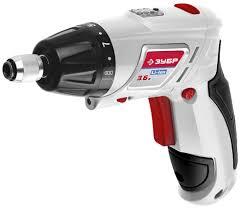 <b>Аккумуляторная отвёртка Зубр ЗО-3.6-Ли</b> КН43 купить недорого в ...