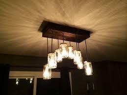 amazing 8 light mason jar edison bulb chandelier for ceiling lighting fixture ideas