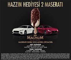 Magnum Maserati Çekiliş Kampanyası Sonuçları | Mag