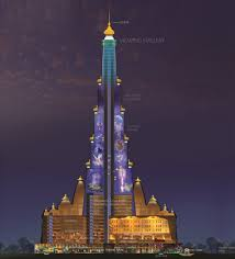 World's tallest Temple Vrindavan Pictures for free download