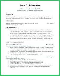 Lpn Skills Resume Skills Resume Examples Student Nurse Resume