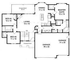 3 Bedroom Open Floor House Plans Best Ideas