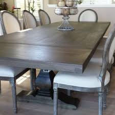 industrial kitchen table furniture. pecan trestle dining table industrial kitchen furniture y