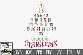 Christmas Countdown Graphic By Oldmarketdesigns Creative Fabrica