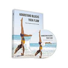Yogabody Handstand Blocks Yoga Flow Official Dvd Pdf Pose Chart Grips Strength Inversion Training With Lucas Rockwood Gabi Om