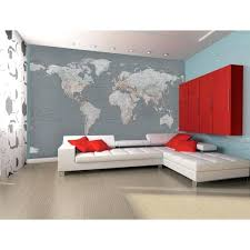 silver map wall mural world map wall murals uk silver map wall mural