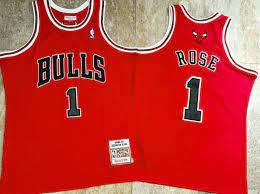 Men's Authentic Jersey Derrick Rose ...