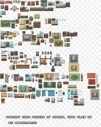 Design Tiles Game Tile Based Video Game Floor Plan Sprite Furniture Interior