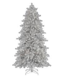 Silver Bells Silver Christmas Tree. Vickerman 3-ft ...