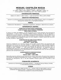 examples of resumes: How To Translate Resume In Spanish With Regard To  Professional Resume Outline