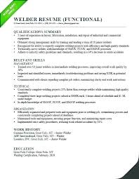 Functional Resume Pdf Examples Of Functional Resume Pdf A Example Text Welder Sample Cover