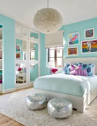 girls blue bedroom turquoise room