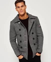 superdry rookie pea coat
