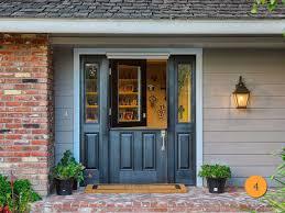 nice front doors6 Panel Front Door With Sidelights  Home Design