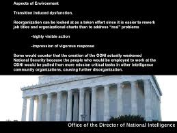 Director Of National Intelligence Organization Chart Office Of The Director Of National Intelligence