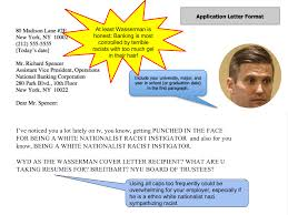 You Are Writing To Richard Spencer On Your Wasserman Cover