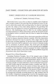 observation essay classroom observation sample essays org classroom observation reflection paper essays