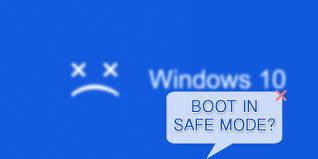 windows 10 safe mode how to boot in safe mode on windows 10