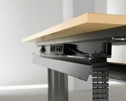 Full Size of Desk & Workstation, Desk cable tray desk cord management under  desk wire ...