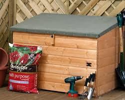 3 windsor wooden garden storage chest