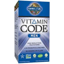 Garden of Life <b>Vitamin Code Men's</b> Multi <b>240</b> Capsules - Walmart ...
