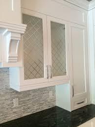 decorative cabinet glass