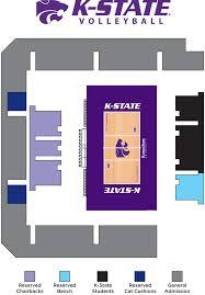 K State Football Stadium Seating Chart Kansas State University Online Ticket Office Seating Charts