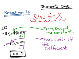 most viewed thumbnail solving for x two step equations
