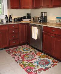 Red Rugs For Kitchen Red Kitchen Rugs With Passionate Look The Kitchen Inspiration