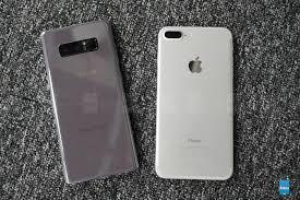 So sánh Galaxy Note 8 và iPhone 7 Plus trên thông số - Fptshop.com.vn