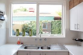 Kitchen Windows Lowes Blinds Ideas For No Window Above Sink Modern