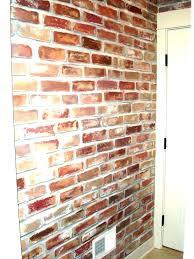faux brick wall paneling enjoyable inspiration living room wall faux brick wall panels