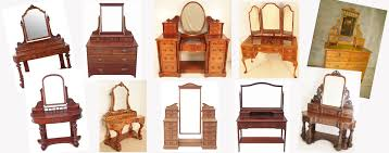 a selection of antique dressing tables