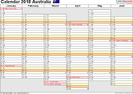 excel 2018 yearly calendar year planning calendar template australia calendar 2018 free