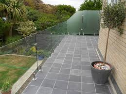 glass balcony swimming pool fence glass barade glass fence frameless glass systems