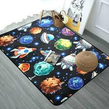 playroom area rugs play area rugs cartoon planet explore universe carpet rugs soft thicken large round playroom area rugs kids