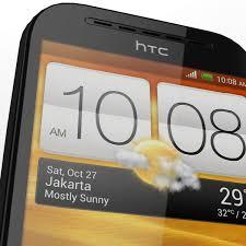 HTC Desire SV - LowPoly 3D Model ...