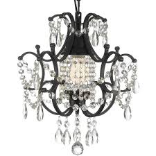 gallery versailles 1 light wrought iron and crystal chandelier found on polyvore