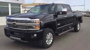 Black 2015 Chevrolet Silverado High Country SRW 4WD Heavy Duty ...