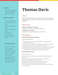 Teaching Resume Teacher Professional Resume Format 100 Resume Format 100 28