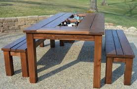pretty diy outdoor table with cooler 23 3154831706 1375671202