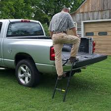 Traxion Pickup Truck Tailgate Ladder Step Extender Heavy Duty ...